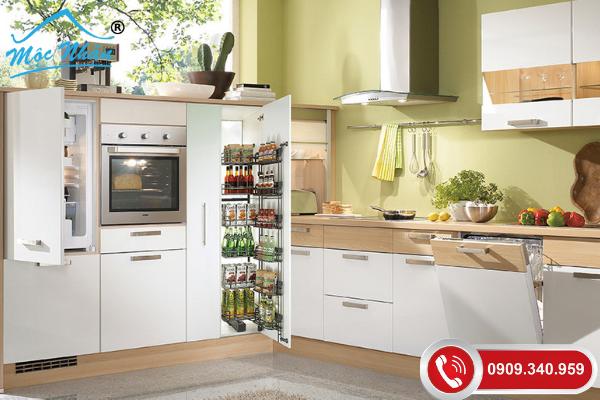 10 Loại phụ kiện tủ bếp khuyên dùng để gian bếp đầy đủ và tiện nghi hơn.