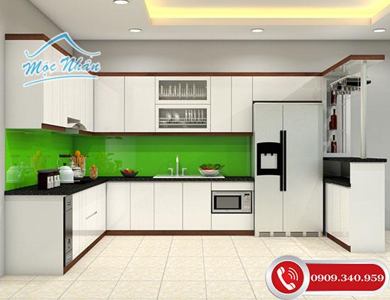 Tủ bếp Acrylic có bền không ?