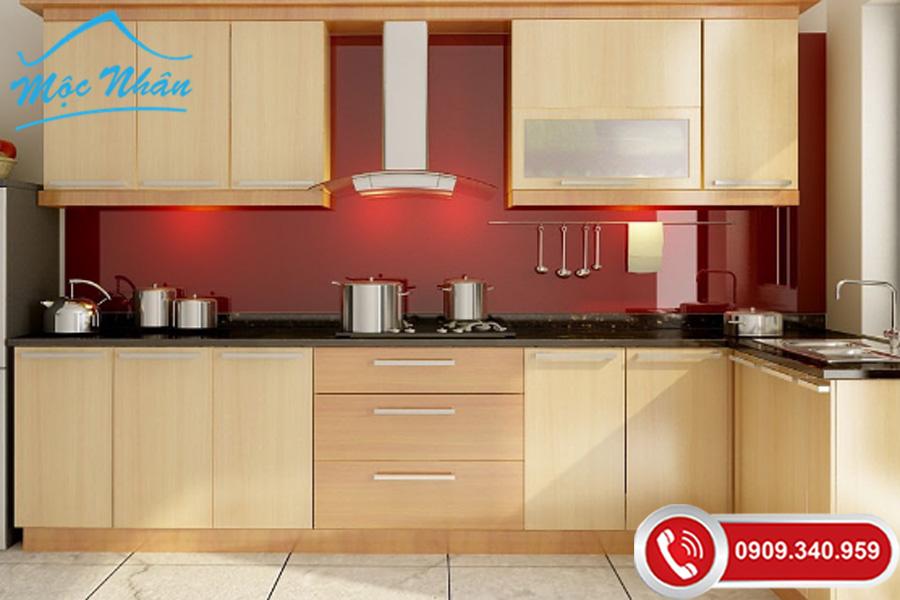 Cách phân biệt và cập nhật xu hướng mới làm tủ bếp gỗ veneer sồi