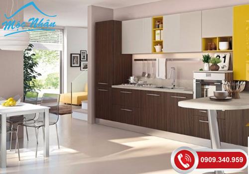 Bảng Báo giá tủ bếp gỗ Laminate