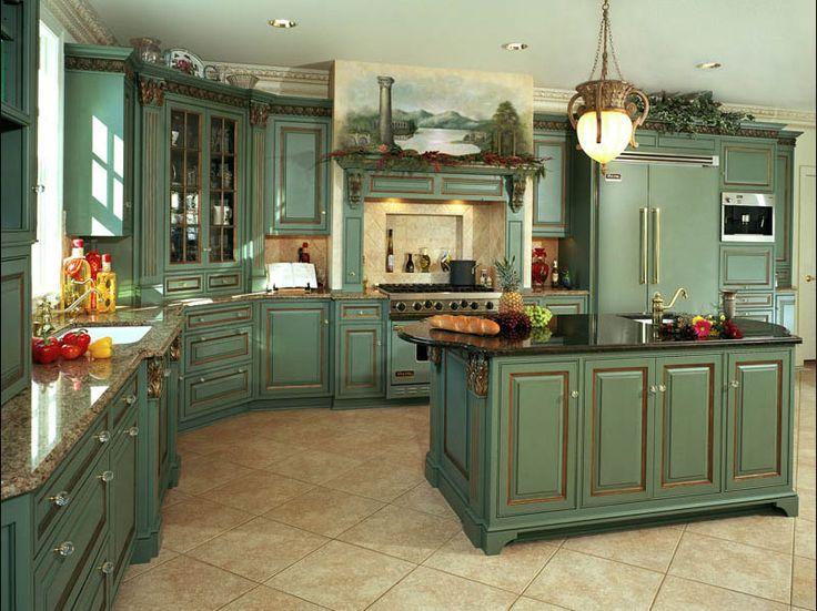 20 Mẫu tủ bếp tân cổ điển sang trọng, phá cách vạn người mê