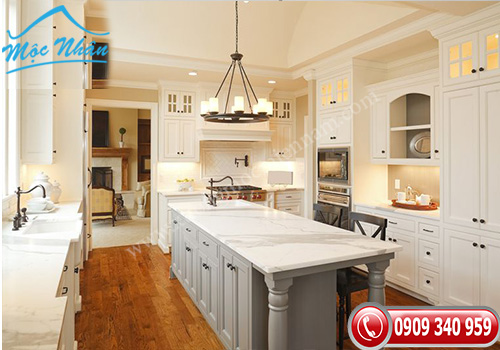 Tủ bếp tân cổ điển TCD 06