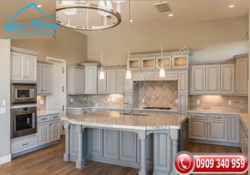 Tủ bếp tân cổ điển TCD 16