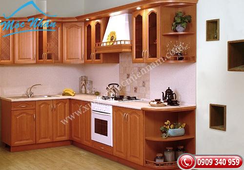 Tủ bếp gỗ Xoan Đào TBXĐ 013