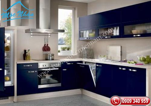 Tủ bếp gỗ Acrylic TBA 48