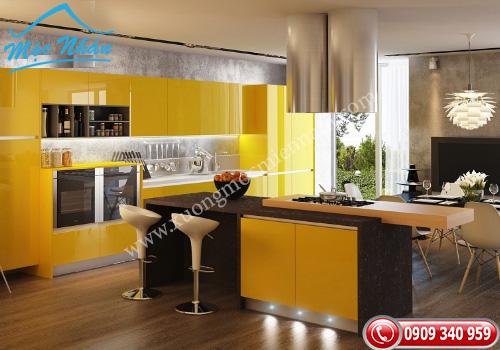 Tủ bếp gỗ Acrylic ACR0681