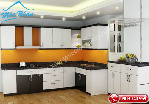 Tủ bếp gỗ laminate TBL 53