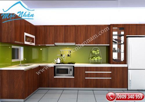 Tủ bếp gỗ laminate TBL 55