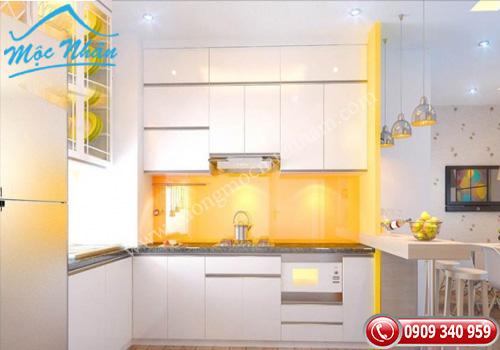 Tủ bếp gỗ laminate TBL 60