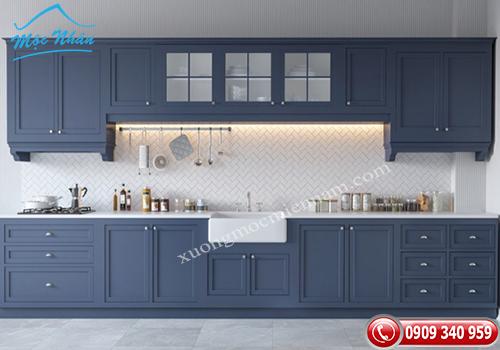 Tủ bếp tân cổ điển TCD 19