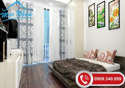 Thiết kế nội thất phòng ngủ anh Kiệt_Quận 2