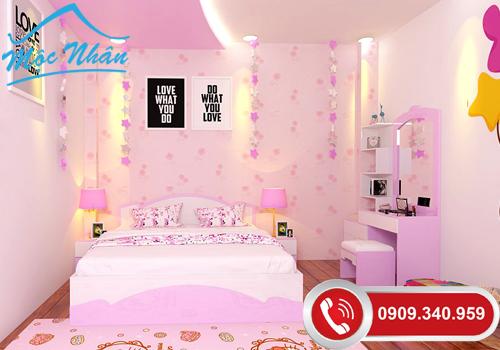 Thiết kế nội thất phòng ngủ Chị Thư_Quận 7