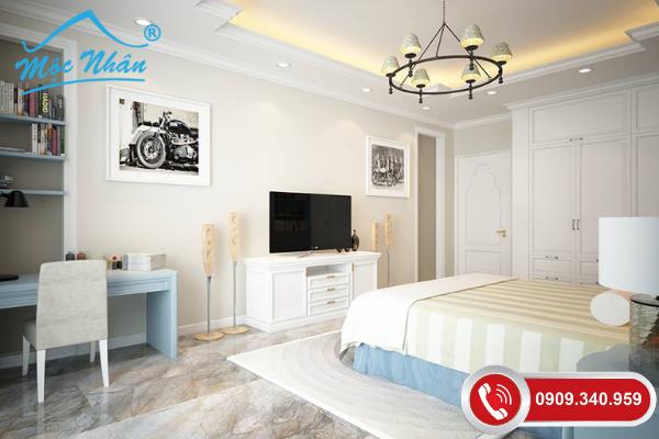 Nội thất phòng ngủ tân cổ điển PNTCD09351