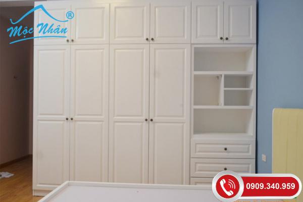 Tủ quần áo tân cổ điển TTCD52955