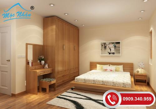 Nội thất phòng ngủ tân cổ điển PNTCD09364