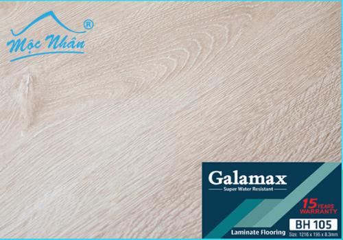 SÀN GỖ GALAMAX BH105_8MM