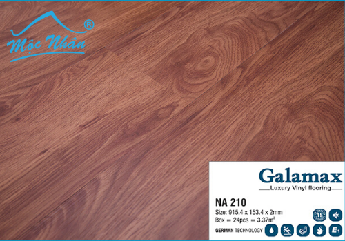 Sàn Nhựa Galamax NA210_2mm