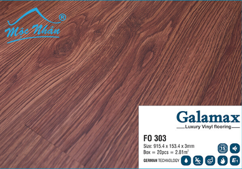 Sàn Nhựa Galamax FO 303_3mm