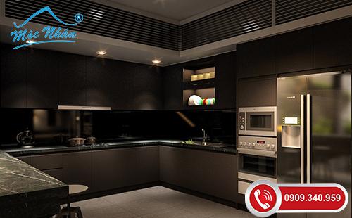 Tủ bếp gỗ melamine TBM 57