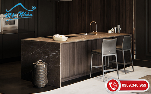 Tủ bếp gỗ melamine TBM 59