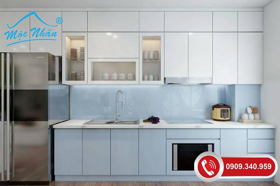 Tủ bếp gỗ melamine TBM 61