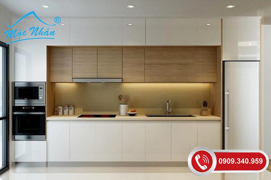 Tủ bếp gỗ melamine TBM 65