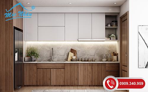 Tủ bếp gỗ melamine TBM 70