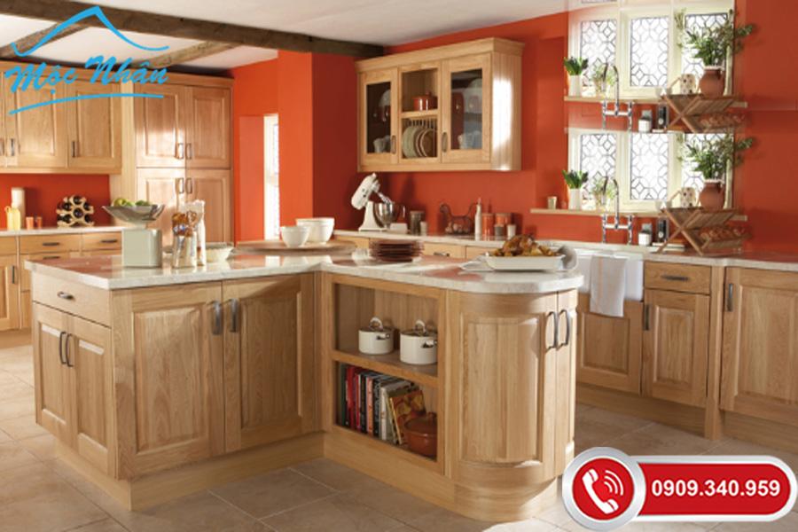 Tủ bếp phong cách Châu Âu