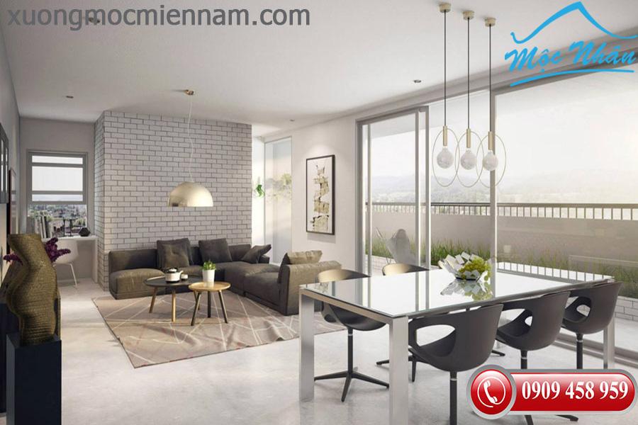 Xu hướng nội thất chung cư căn hộ cao cấp