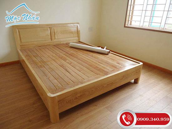 Đặc điểm nổi bật của giường gỗ tự nhiên