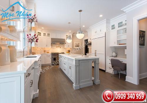 Tủ bếp tân cổ điển TCD 10