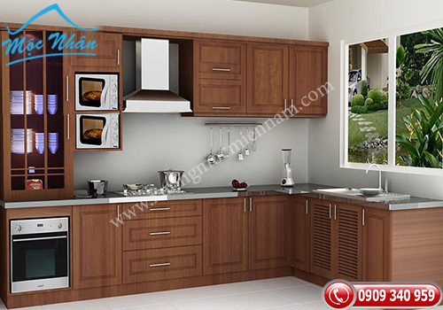 Tủ bếp gỗ Xoan Đào TBXĐ 002