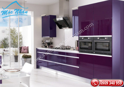 Tủ bếp gỗ Acrylic TBA 52