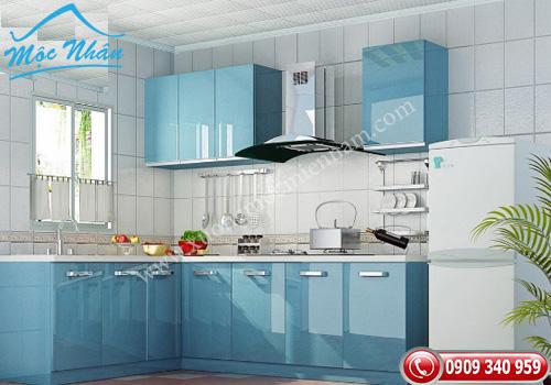 Tủ bếp gỗ Acrylic TBA 60