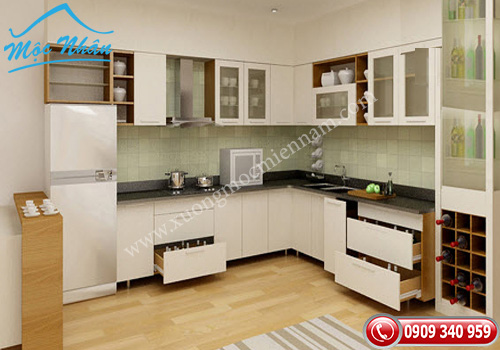 Tủ bếp gỗ laminate TBL 50