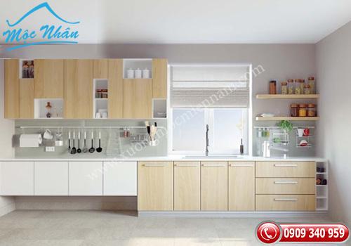 Tủ bếp gỗ laminate TBL 51