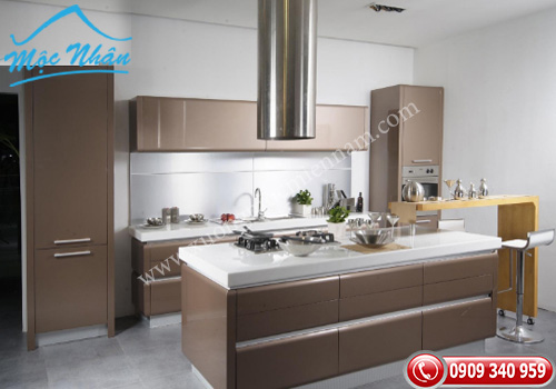 Tủ bếp gỗ laminate TBL 56