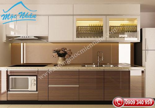 Tủ bếp gỗ laminate TBL 61