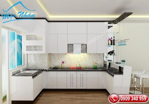 Tủ bếp gỗ laminate TBL 68
