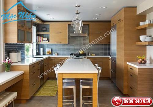 Tủ bếp gỗ laminate TBL 69