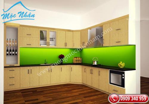 Tủ bếp gỗ laminate TBL 70