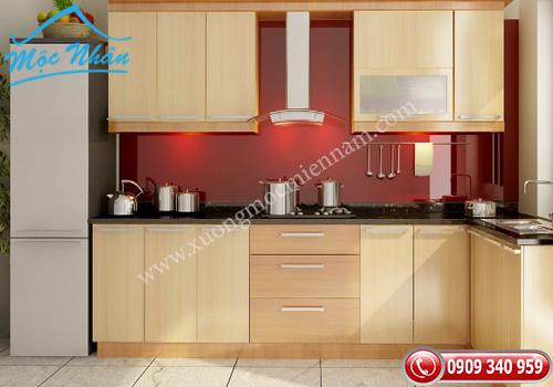 Tủ bếp gỗ Veneer TBV 50