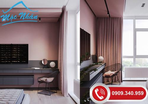Thiết kế nội thất căn hộ ROMANCE