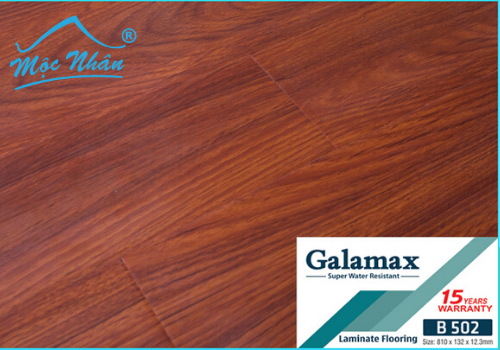 SÀN GỖ GALAMAX B502_12MM
