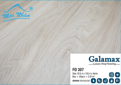 Sàn Nhựa Galamax FO 307_3mm