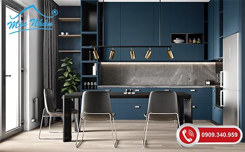 Tủ bếp gỗ Melamine TBM 43