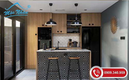 Tủ bếp gỗ laminate TBL 52