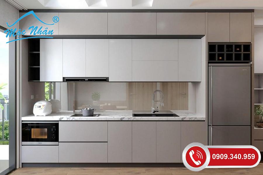 Tủ bếp gỗ melamine TBM 60